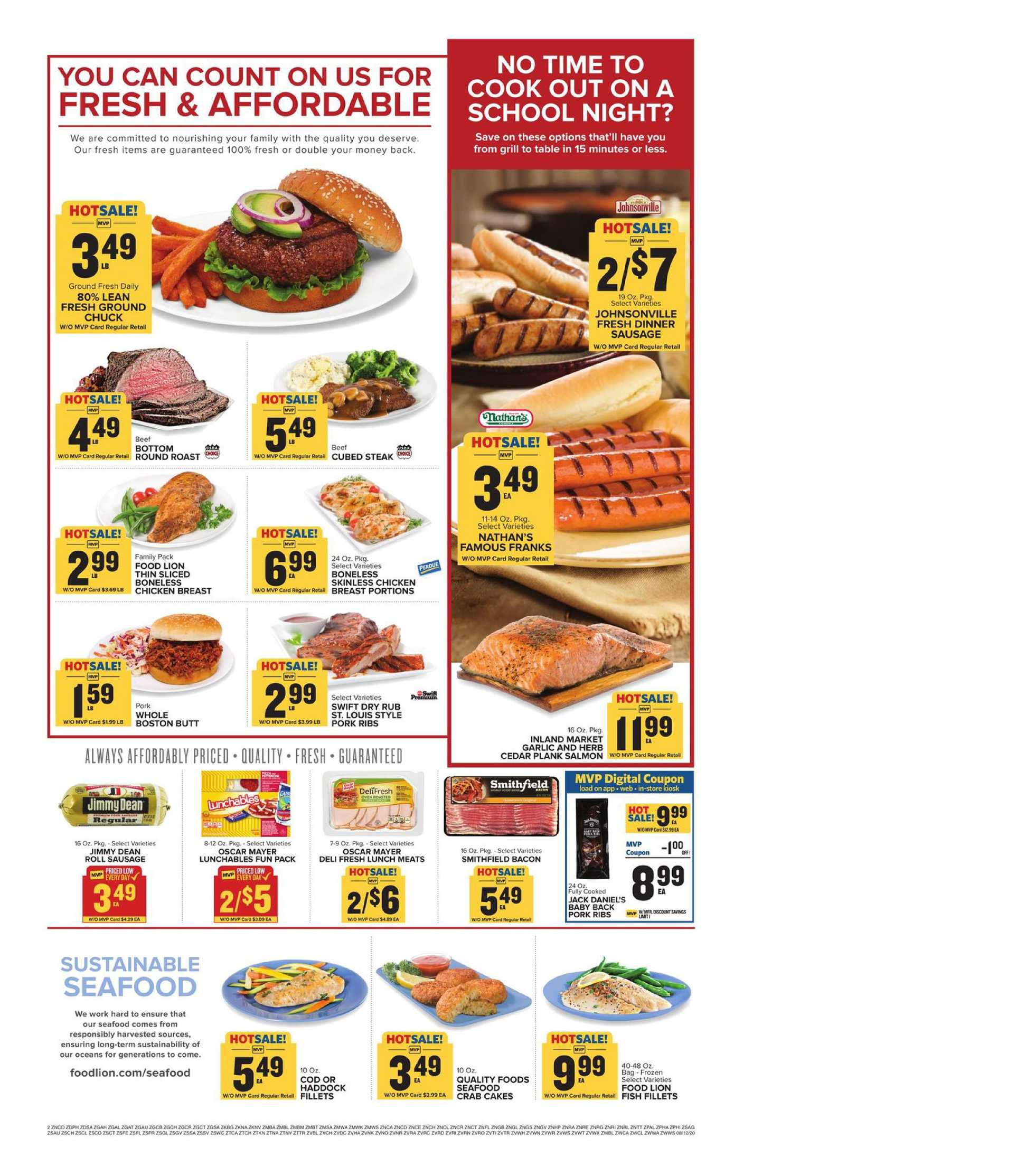 Food Lion - deals are valid from 08/12/20 to 08/18/20 - page 3.