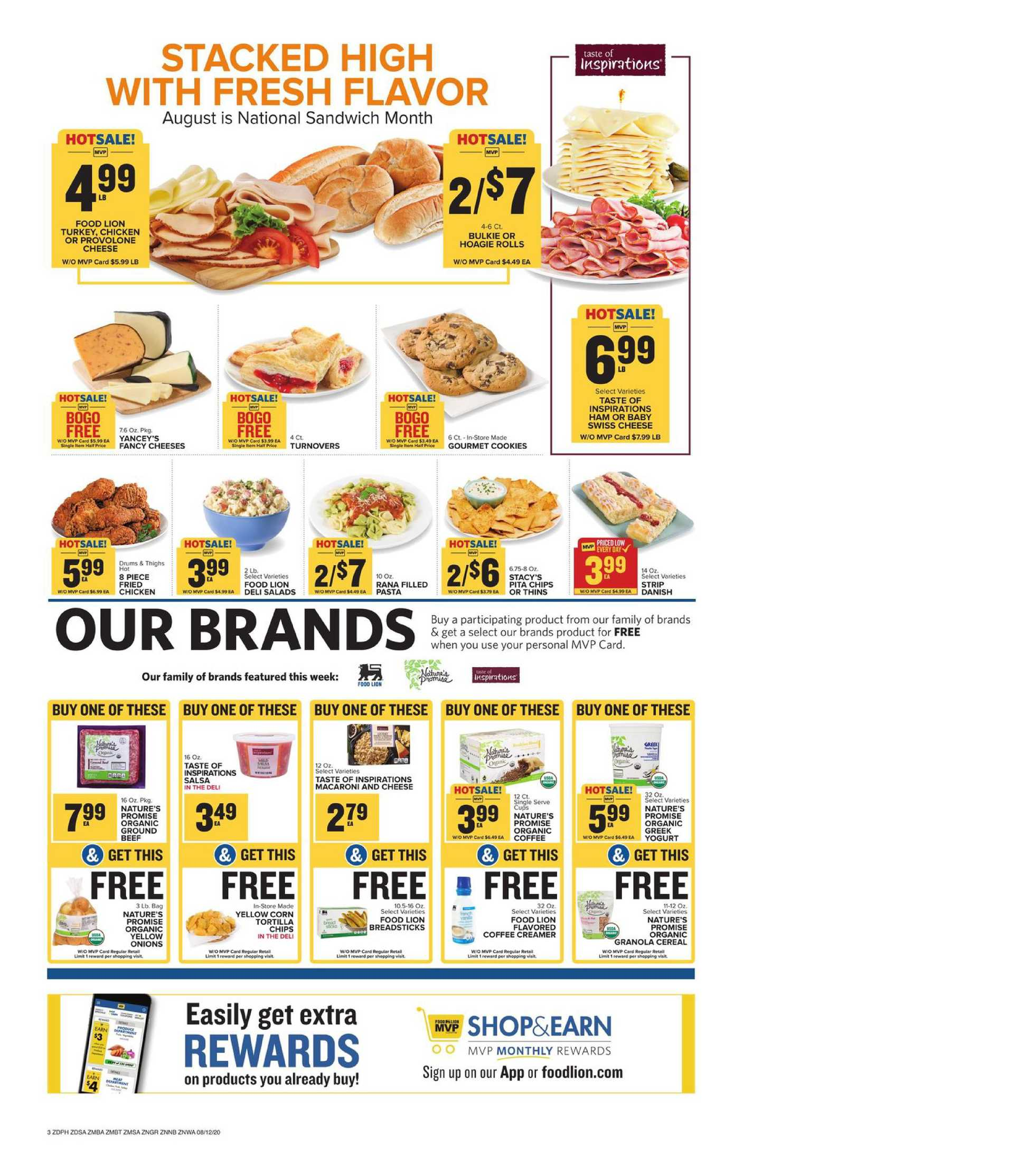 Food Lion - deals are valid from 08/12/20 to 08/18/20 - page 4.