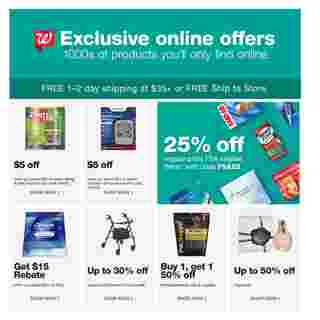 Walgreens - deals are valid from 03/01/20 to 03/07/20 - page 25.