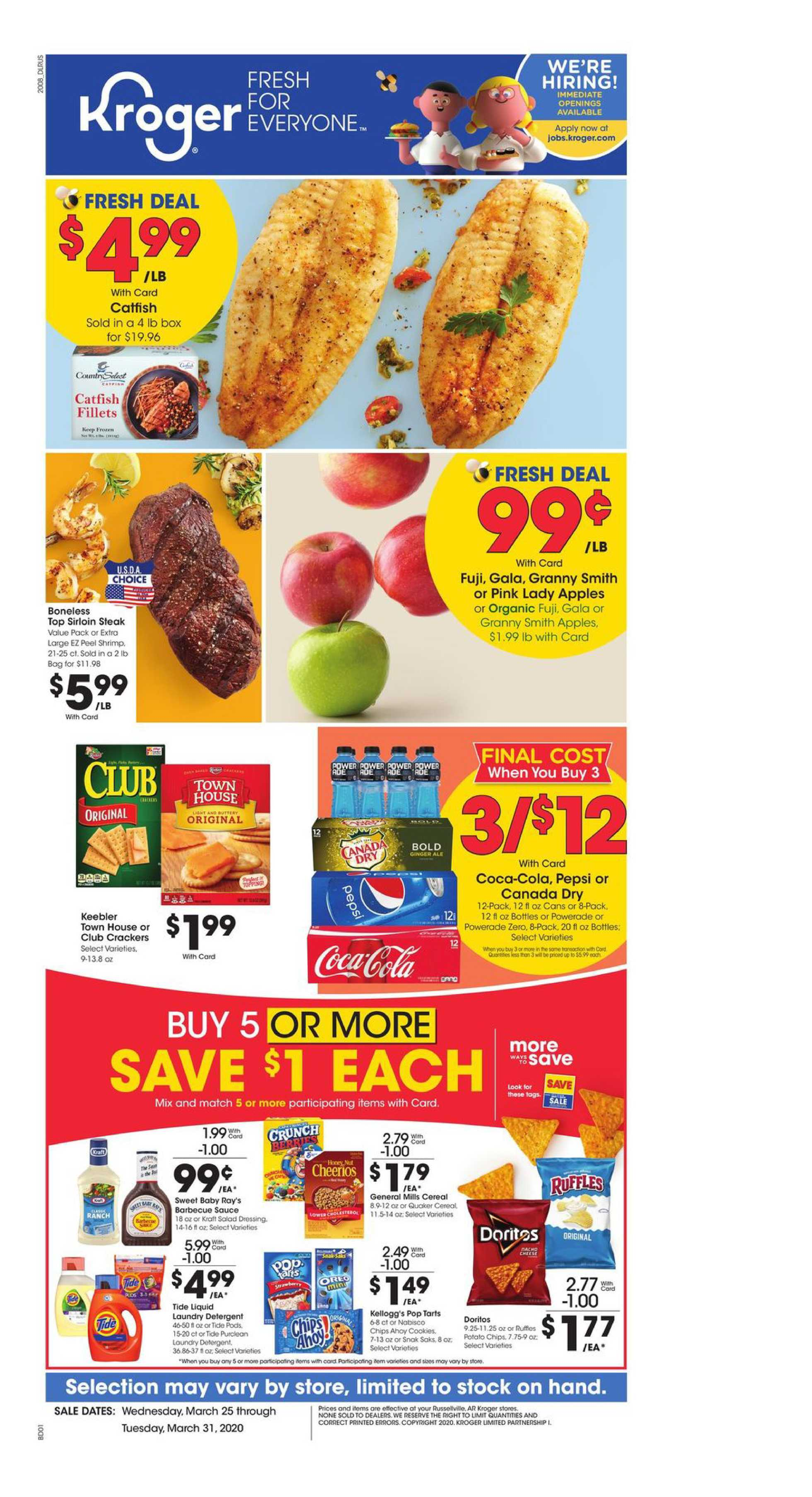 Kroger - deals are valid from 03/25/20 to 03/31/20 - page 2.
