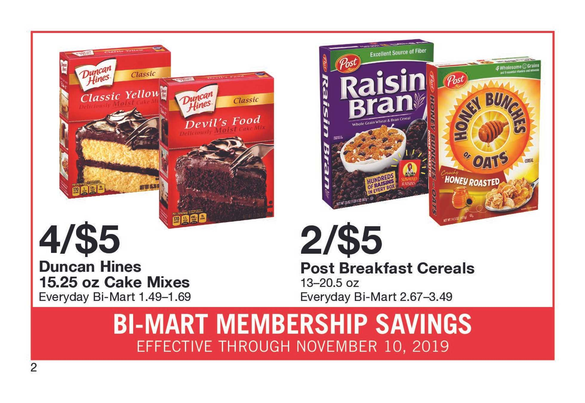 Bi-Mart - deals are valid from 10/31/19 to 11/10/19 - page 4.