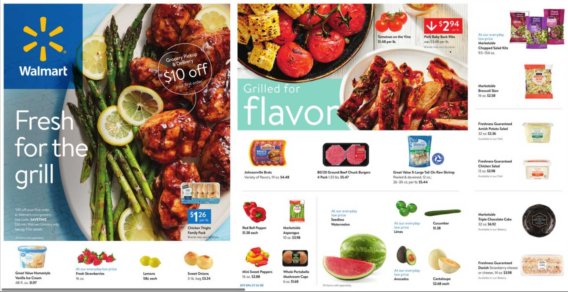 Walmart - deals are valid from 05/01/20 to 05/21/20 - page 1.