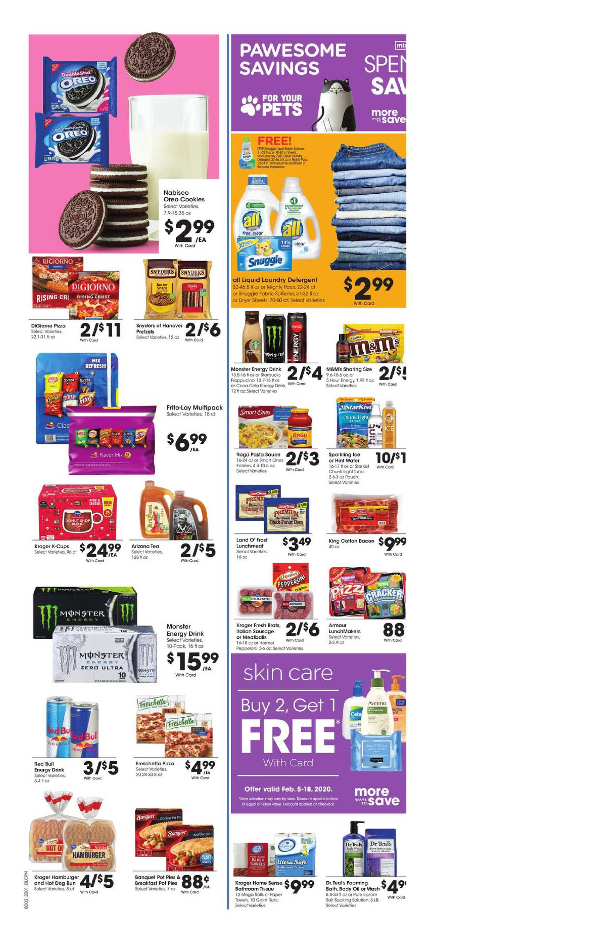 Kroger - deals are valid from 02/05/20 to 02/11/20 - page 4.