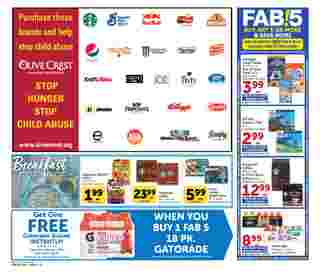 Vons - deals are valid from 08/05/20 to 09/01/20 - page 10.
