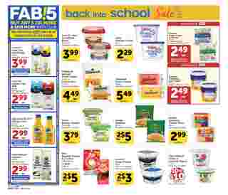 Vons - deals are valid from 08/05/20 to 09/01/20 - page 12.
