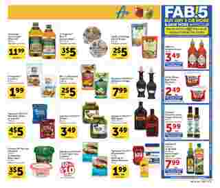Vons - deals are valid from 08/05/20 to 09/01/20 - page 13.