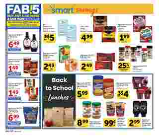 Vons - deals are valid from 08/05/20 to 09/01/20 - page 14.