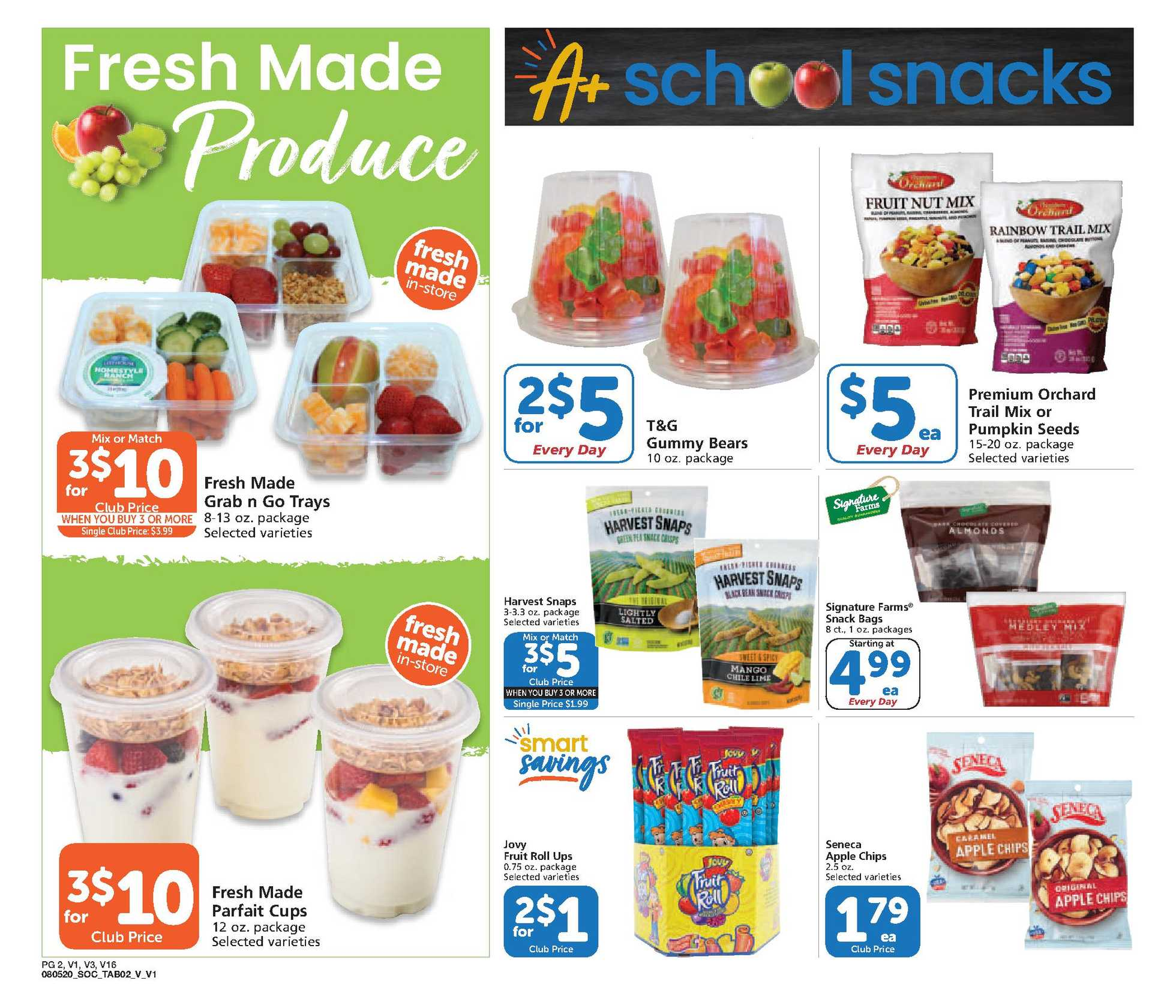 Vons - deals are valid from 08/05/20 to 09/01/20 - page 2.