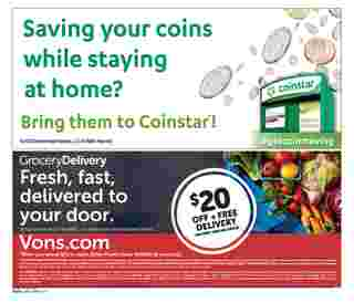 Vons - deals are valid from 08/05/20 to 09/01/20 - page 20.