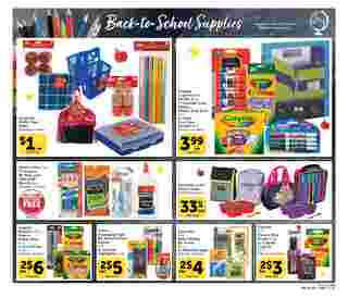 Vons - deals are valid from 08/05/20 to 09/01/20 - page 21.