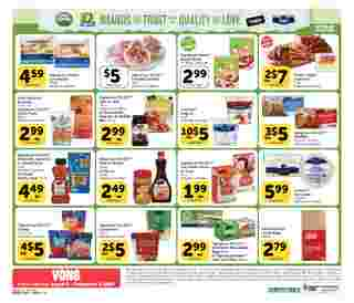 Vons - deals are valid from 08/05/20 to 09/01/20 - page 24.