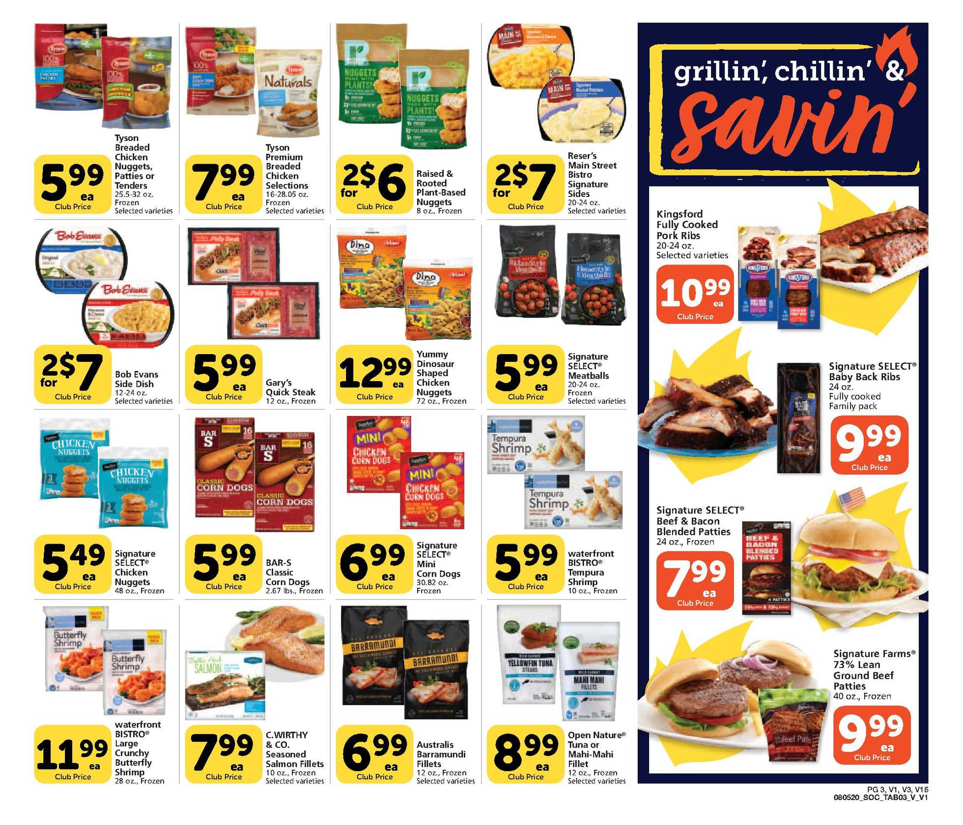 Vons - deals are valid from 08/05/20 to 09/01/20 - page 3.
