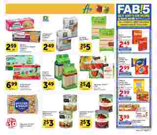 Vons - deals are valid from 08/05/20 to 09/01/20 - page 9.