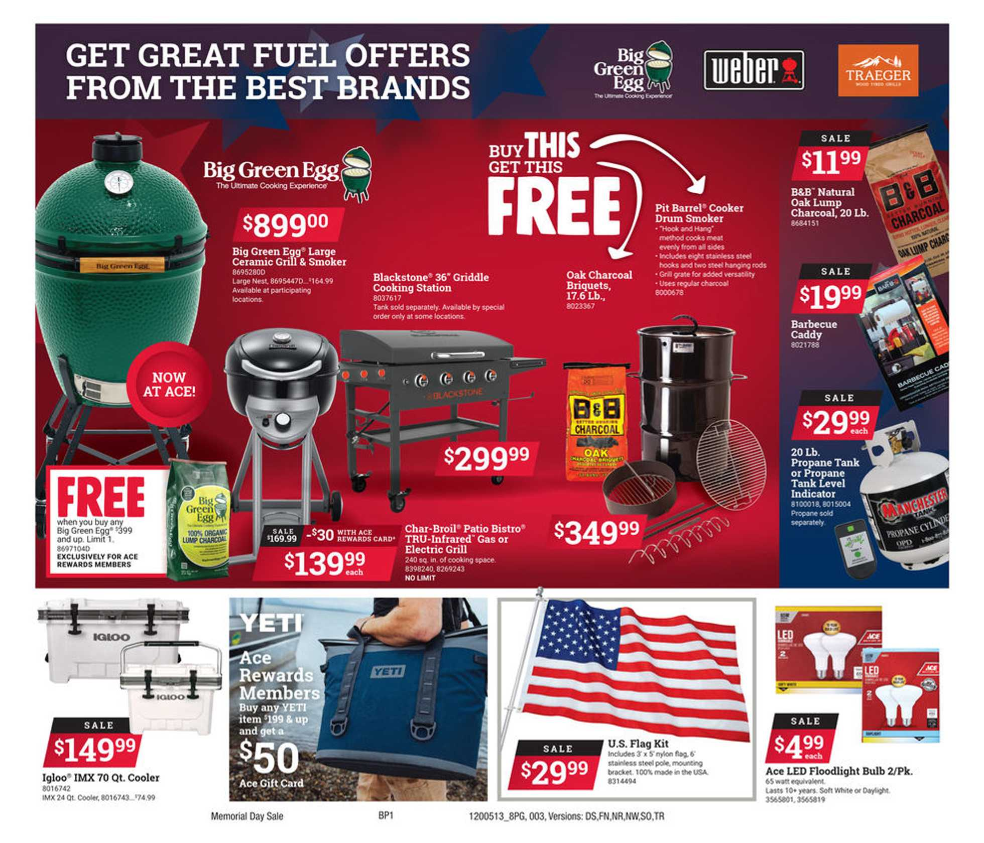 ACE Hardware - deals are valid from 05/13/20 to 05/25/20 - page 3.