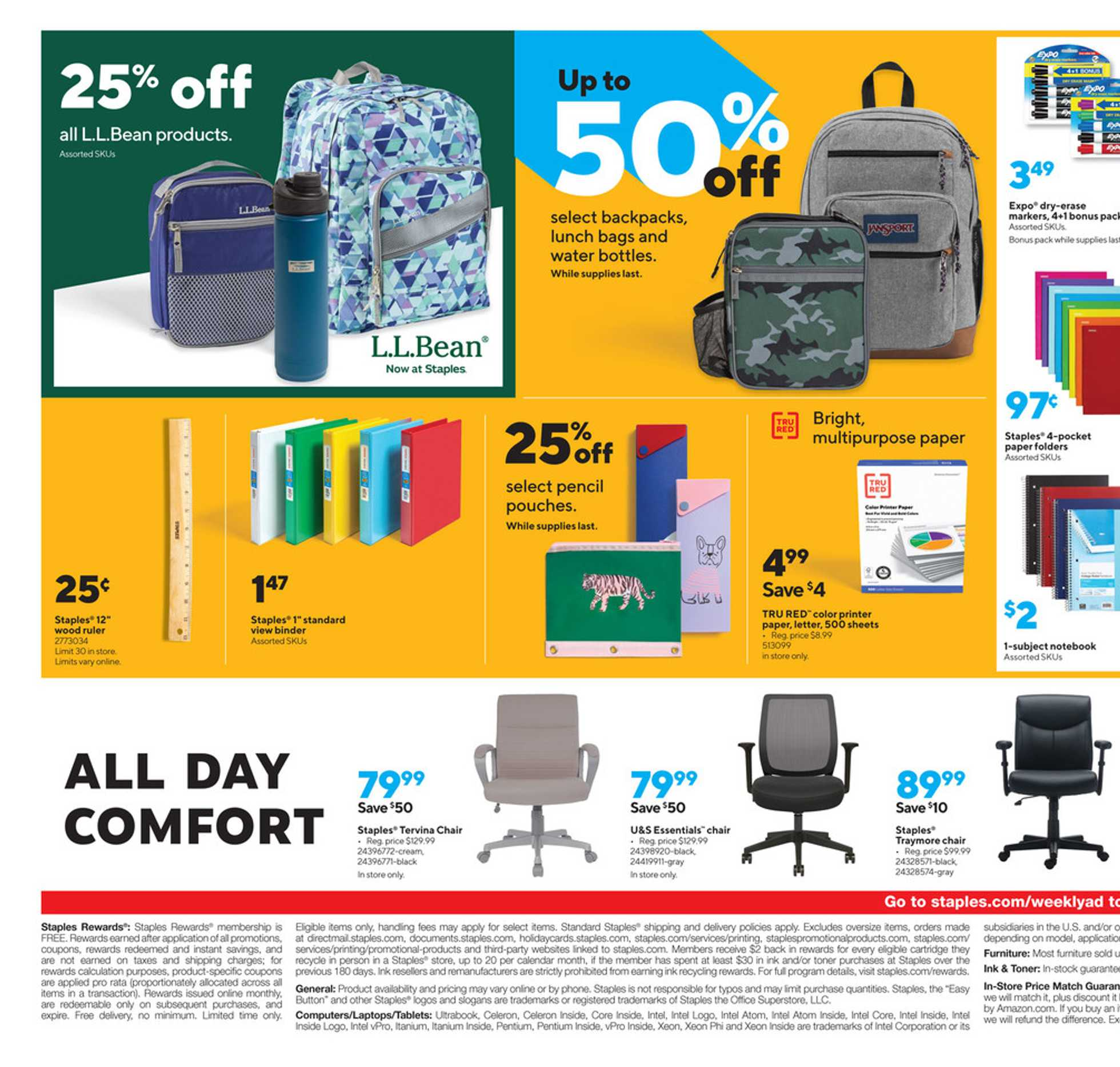 Staples - deals are valid from 09/06/20 to 09/12/20 - page 3.