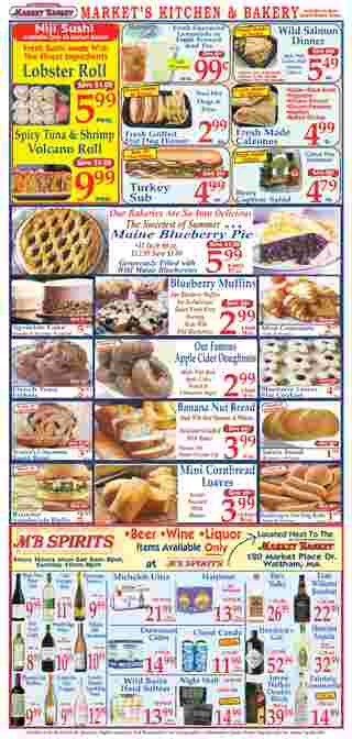 Market Basket - deals are valid from 08/23/20 to 08/29/20 - page 10.