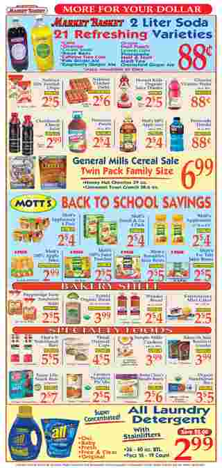 Market Basket - deals are valid from 08/23/20 to 08/29/20 - page 8.