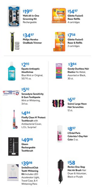 Walmart - deals are valid from 07/29/20 to 09/01/20 - page 11.