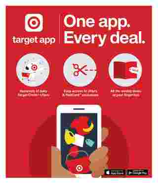 Target - deals are valid from 02/28/21 to 03/06/21 - page 28.