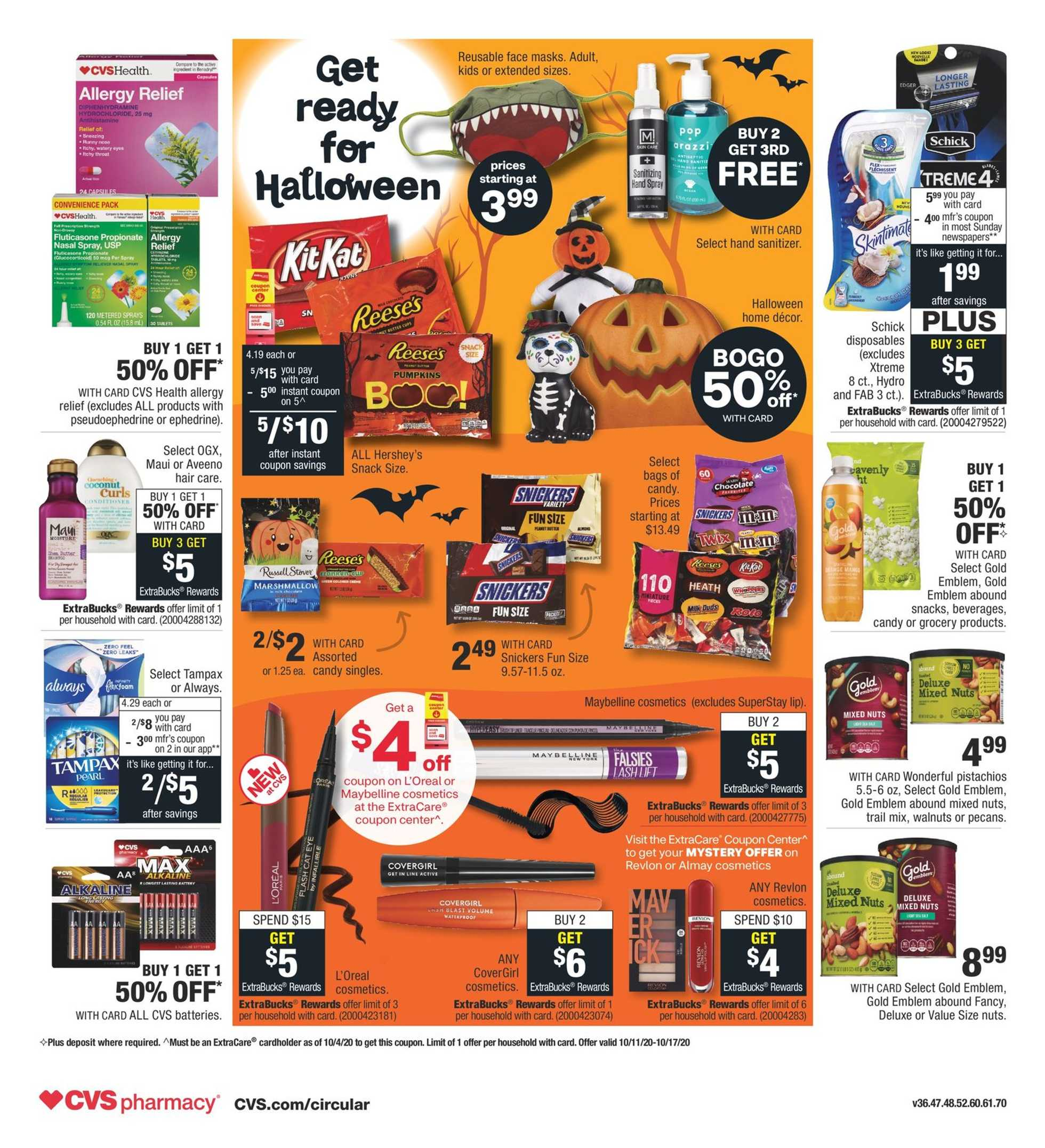 CVS - deals are valid from 10/11/20 to 10/17/20 - page 2.