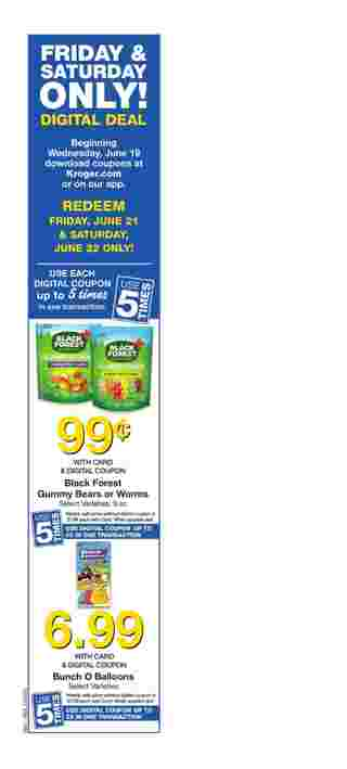 Kroger - deals are valid from 06/19/19 to 06/25/19 - page 7.