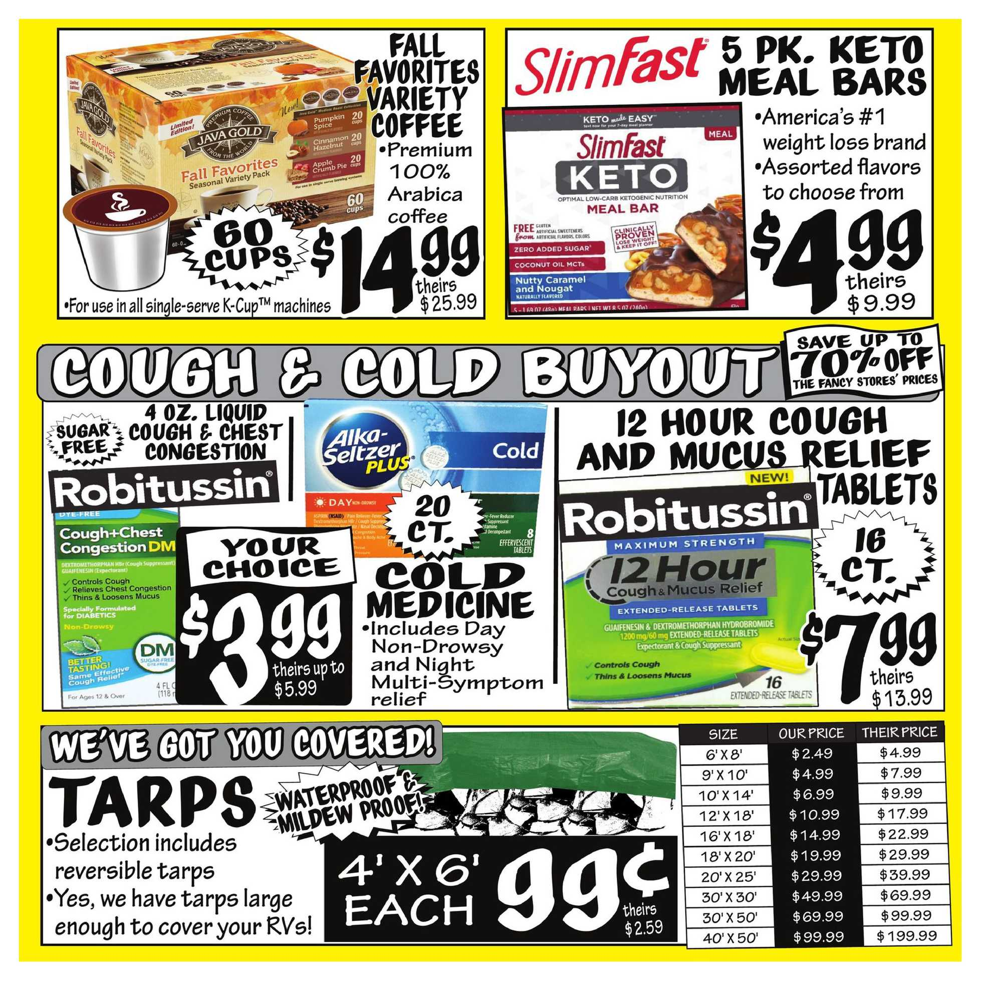 Ollie's Bargain Outlet - deals are valid from 10/12/20 to 10/21/20 - page 4.
