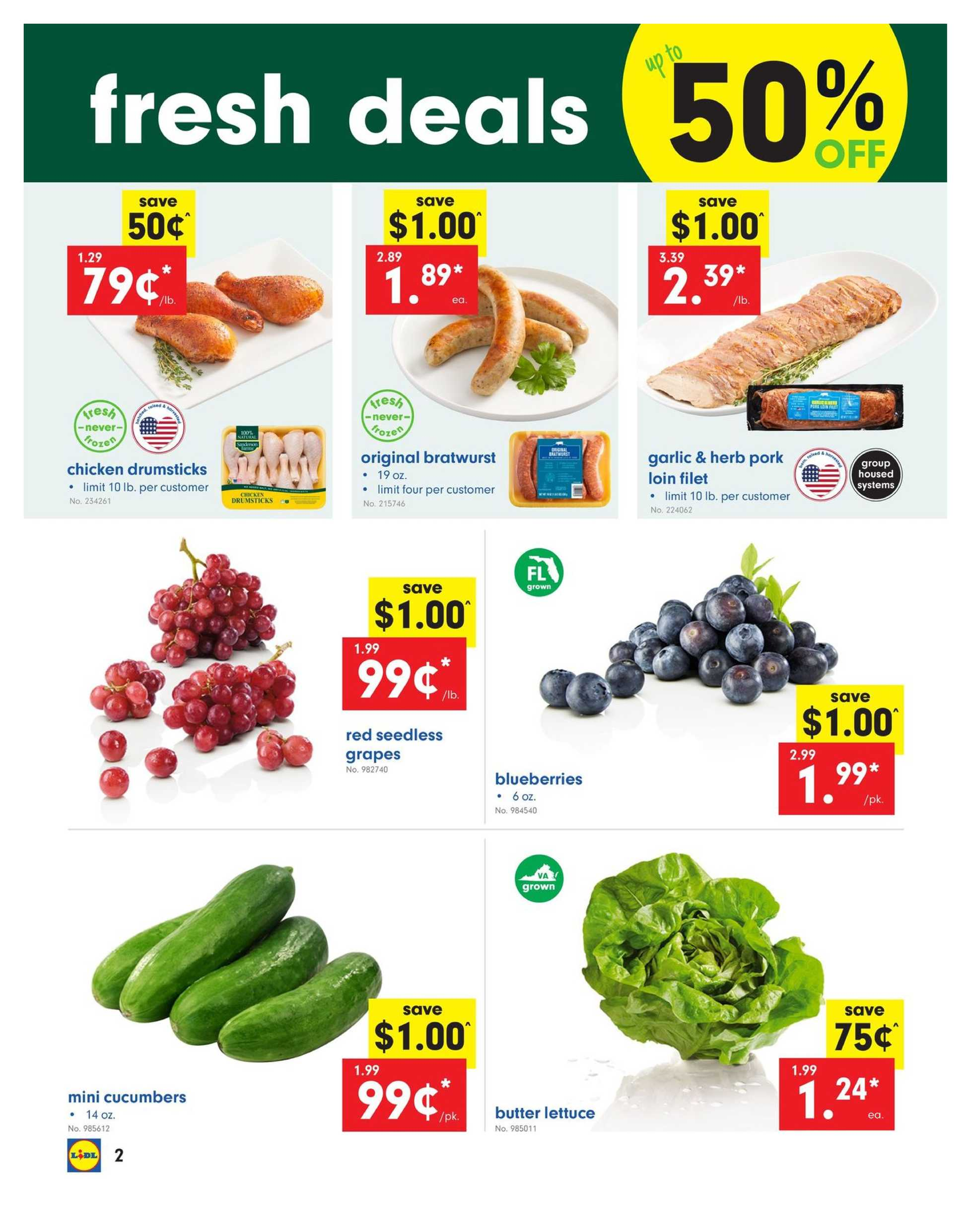 Lidl - promo starting from 04/24/19 to 04/30/19 - page 2.
