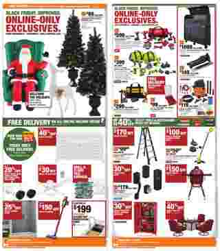 The Home Depot - deals are valid from 11/08/20 to 12/02/20 - page 7.