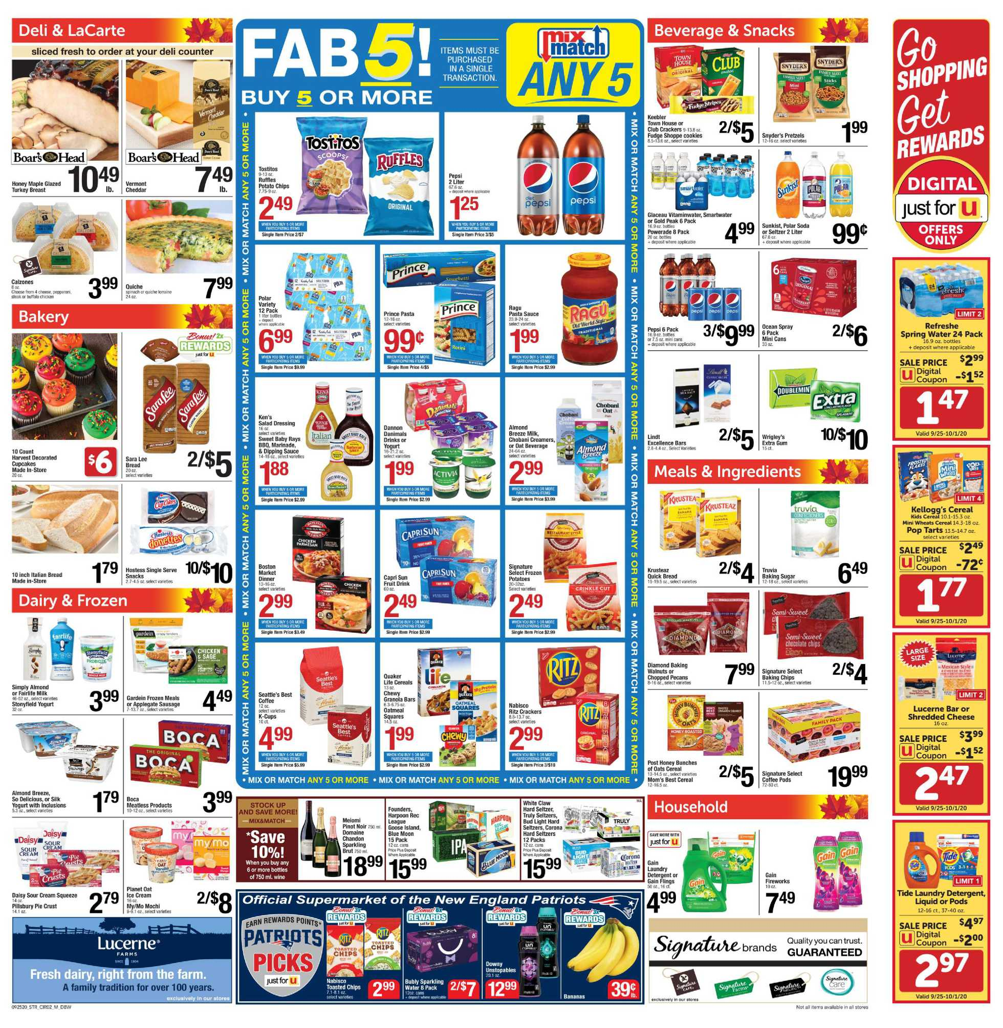 Star Market - deals are valid from 09/25/20 to 10/01/20 - page 2.