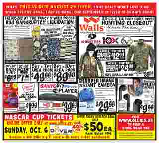 Ollie's Bargain Outlet - deals are valid from 08/29/19 to 09/05/19 - page 8.