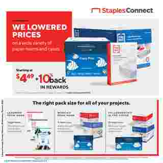 Staples - deals are valid from 02/28/21 to 03/06/21 - page 6.