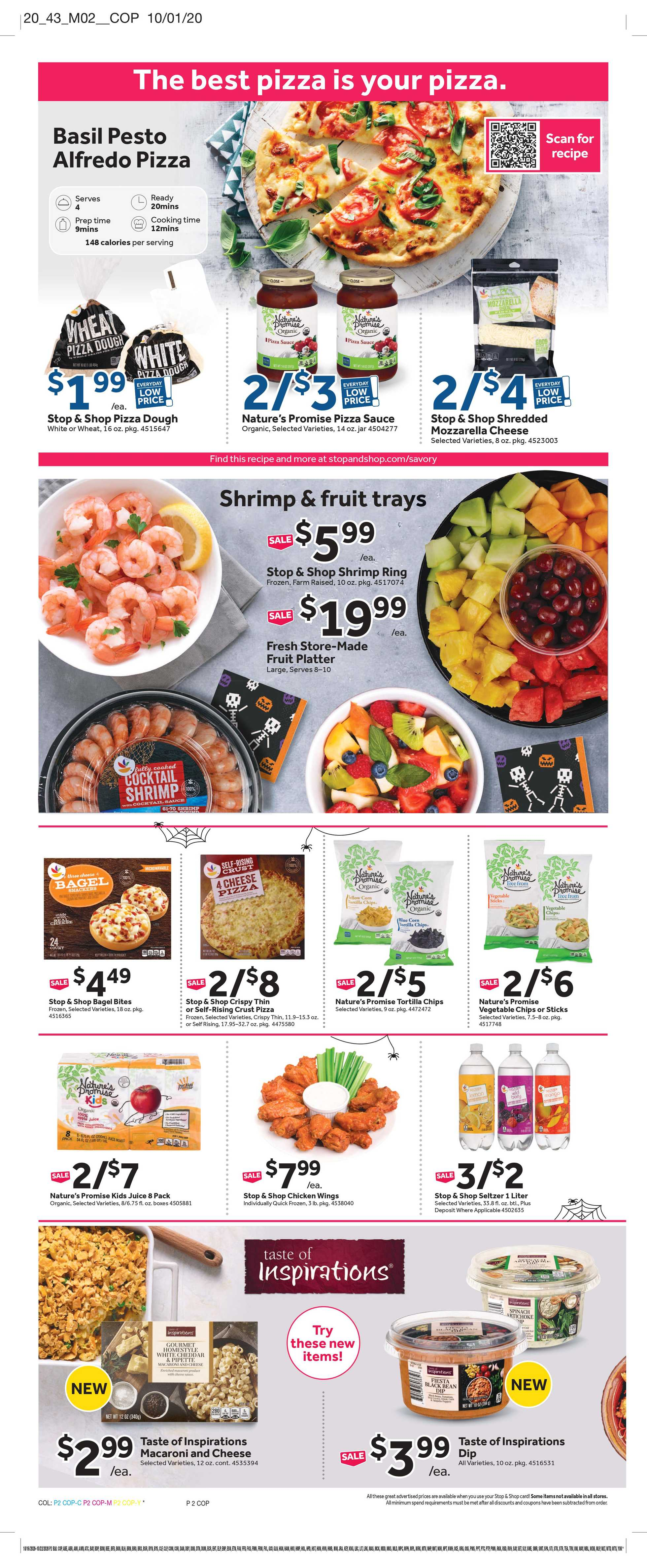 Stop & Shop - deals are valid from 10/16/20 to 10/22/20 - page 4.