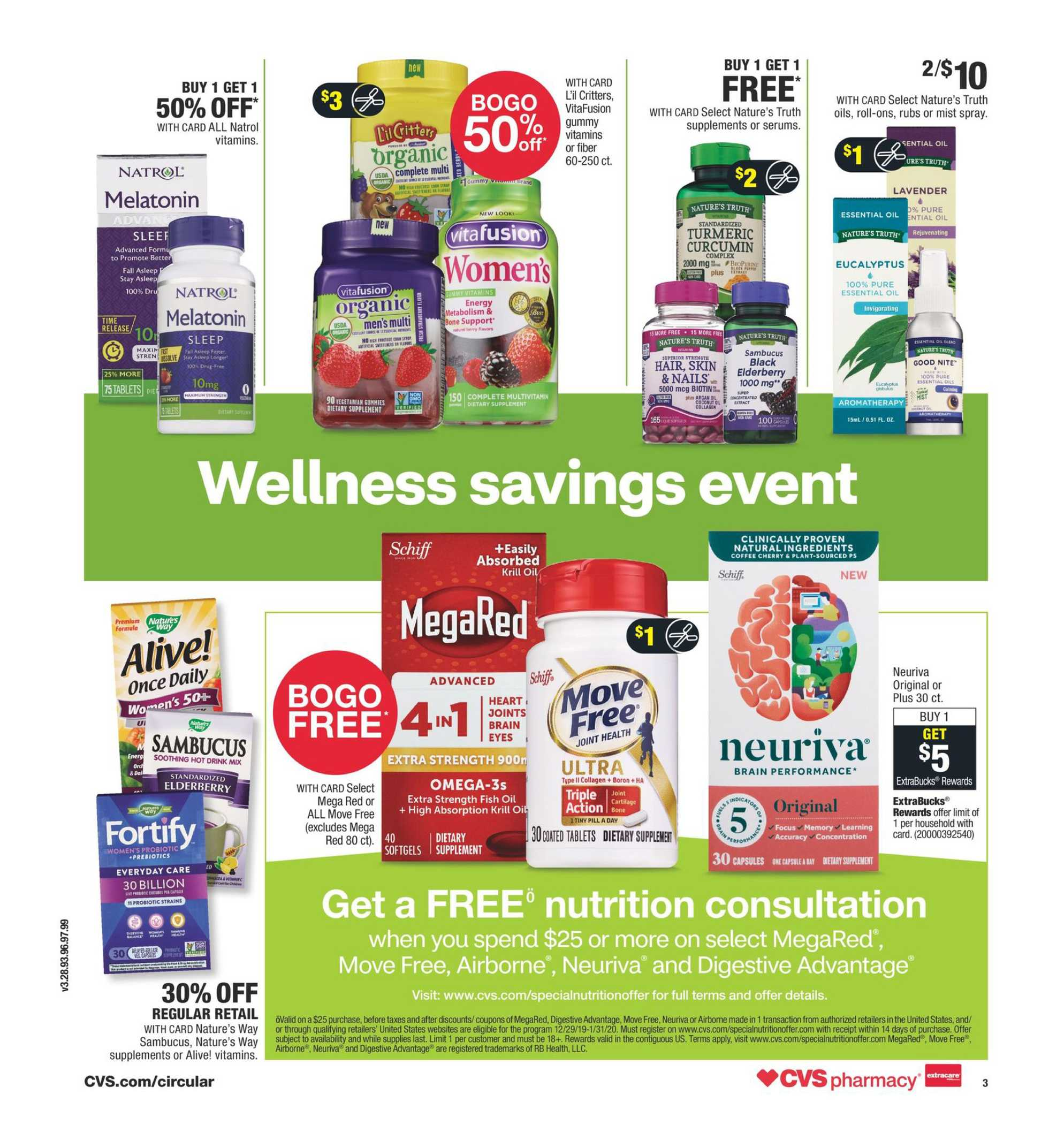 CVS - promo starting from 01/12/20 to 01/18/20 - page 4.