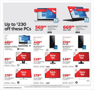 Staples - deals are valid from 01/12/20 to 01/18/20 - page 9.