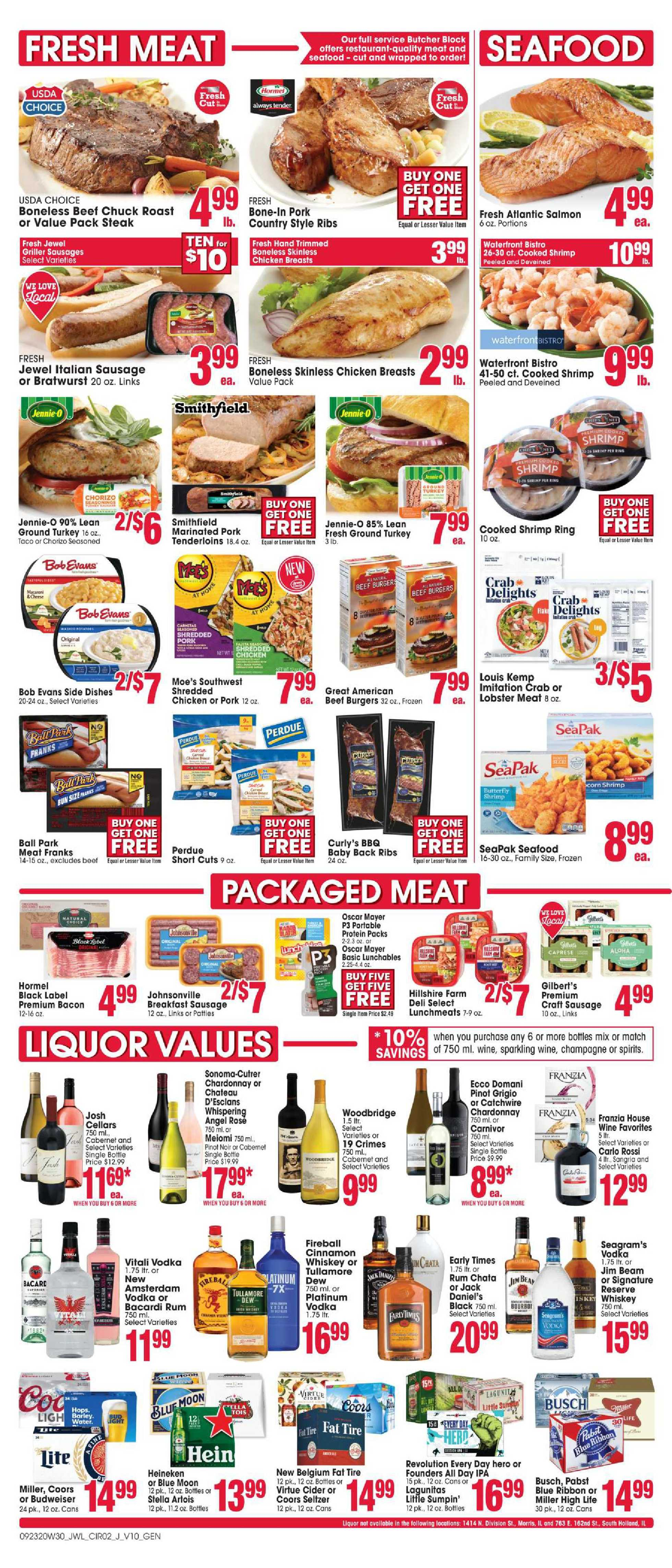 Jewel Osco - deals are valid from 09/23/20 to 09/29/20 - page 2.