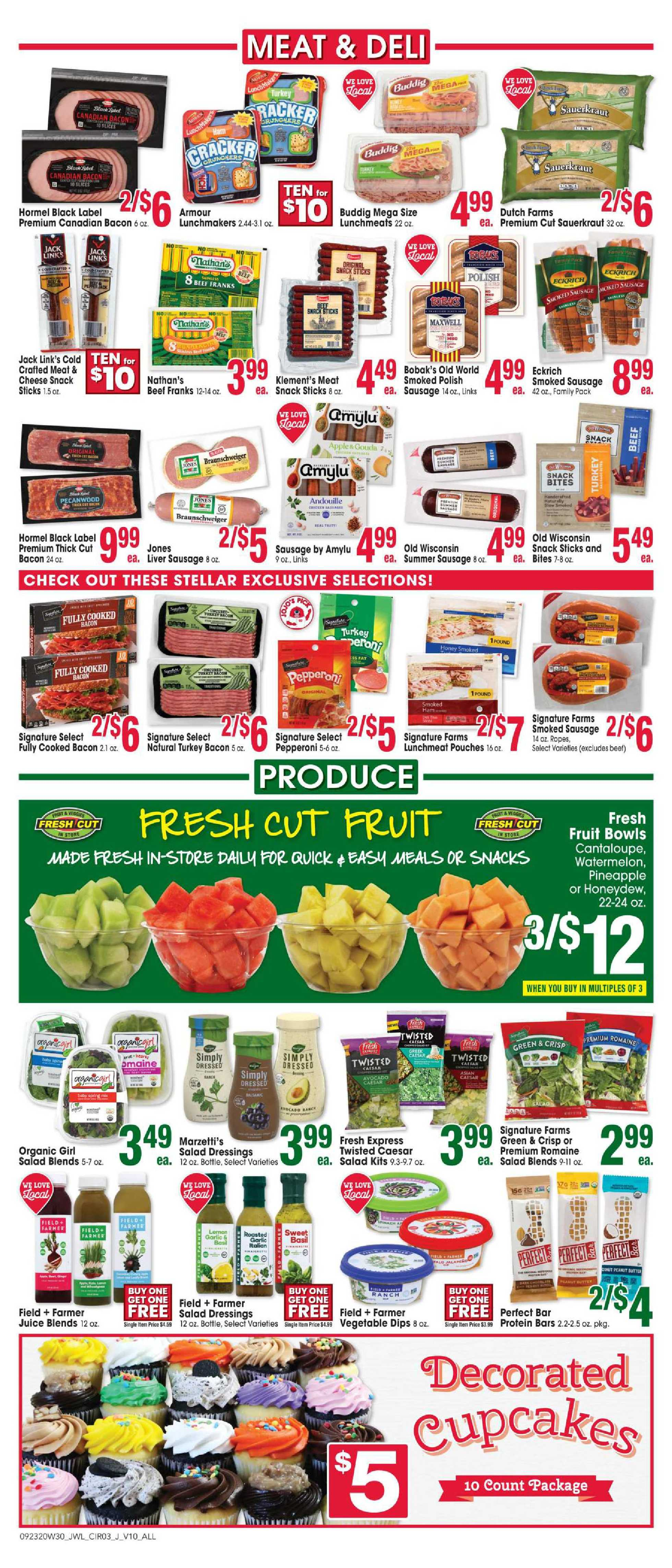 Jewel Osco - deals are valid from 09/23/20 to 09/29/20 - page 3.