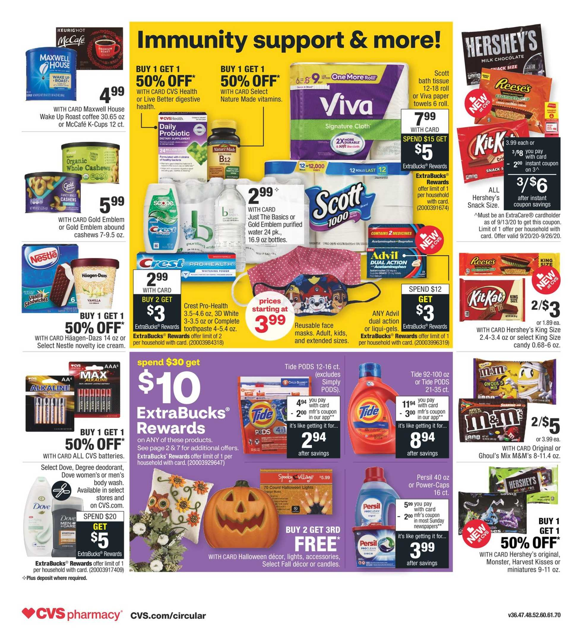 CVS - deals are valid from 09/20/20 to 09/26/20 - page 2.
