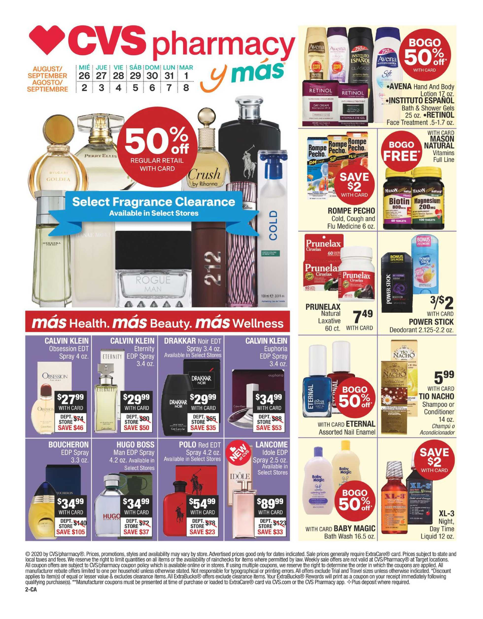 CVS - deals are valid from 08/26/20 to 09/08/20 - page 2.