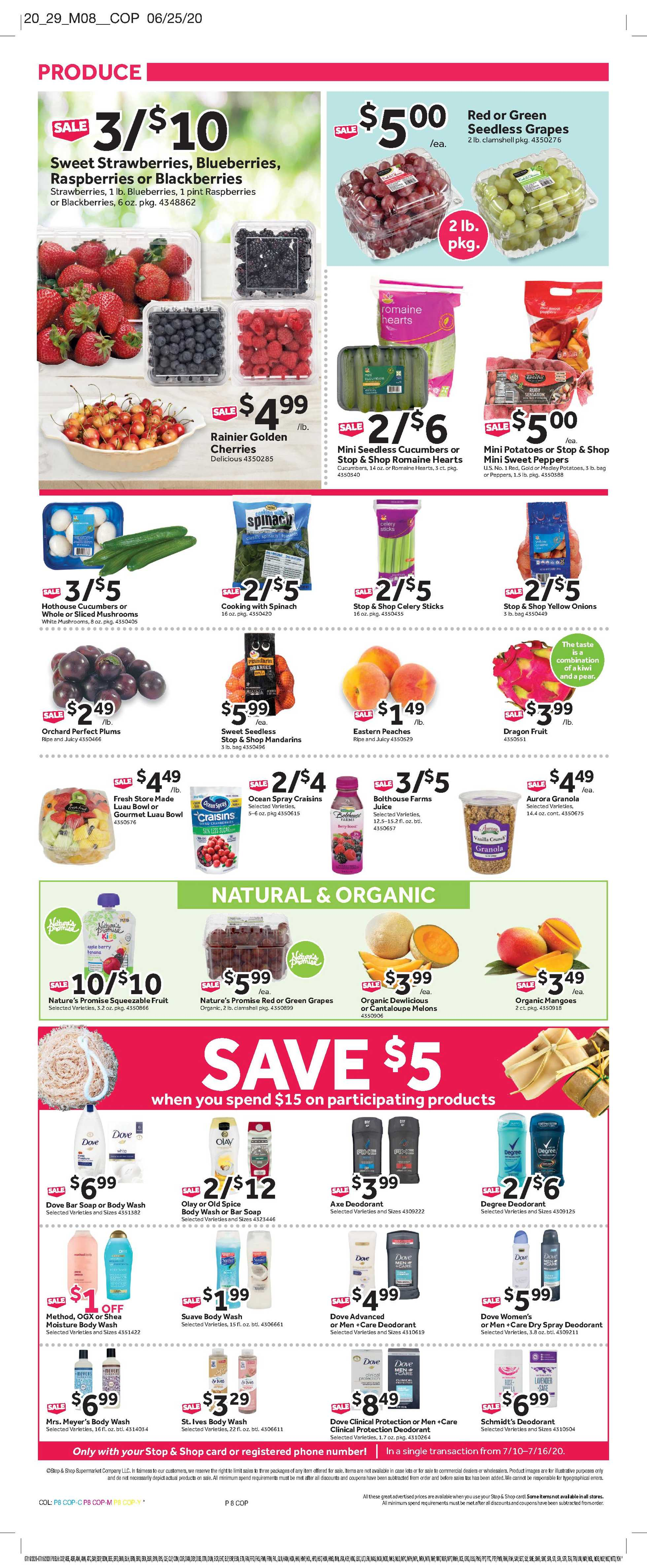 Stop & Shop - deals are valid from 07/10/20 to 07/16/20 - page 3.