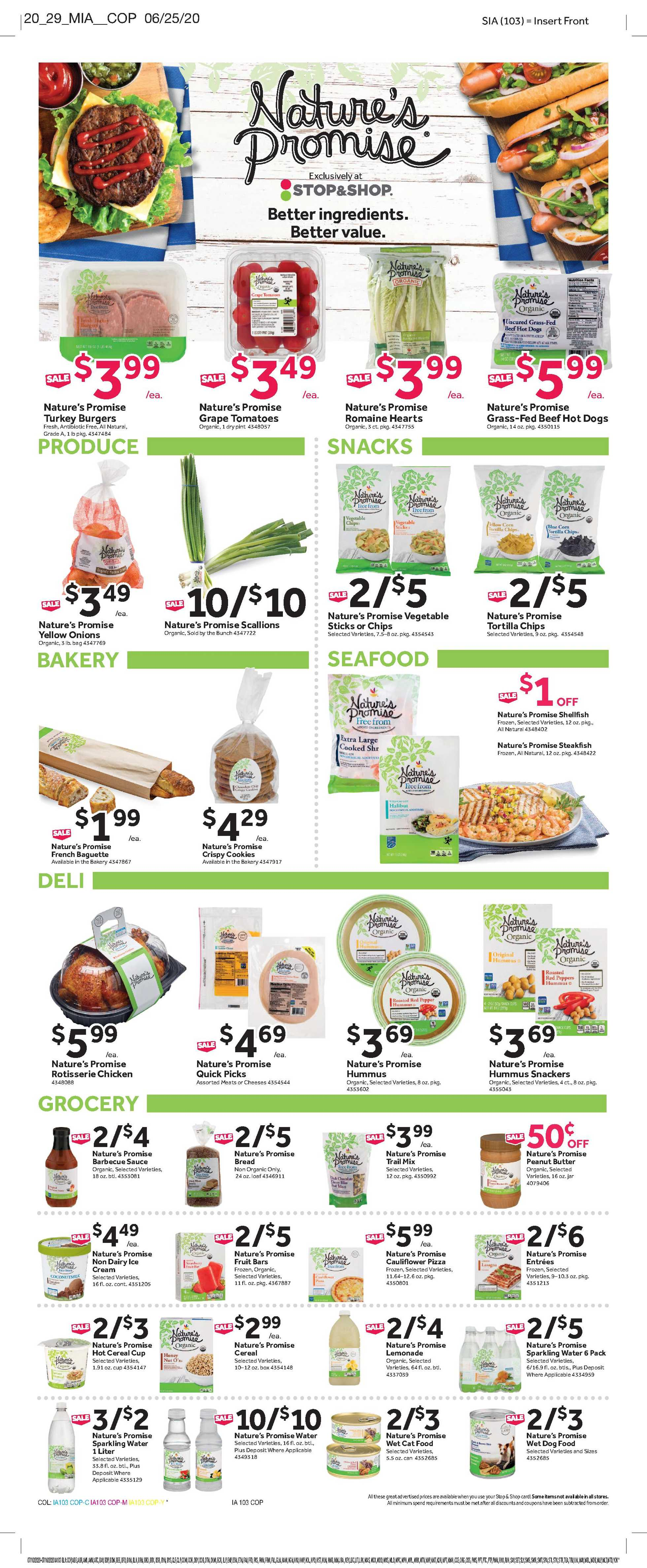 Stop & Shop - deals are valid from 07/10/20 to 07/16/20 - page 4.