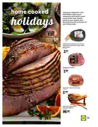Lidl - deals are valid from 10/28/20 to 11/27/20 - page 23.