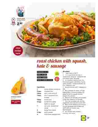 Lidl - deals are valid from 10/28/20 to 11/27/20 - page 27.