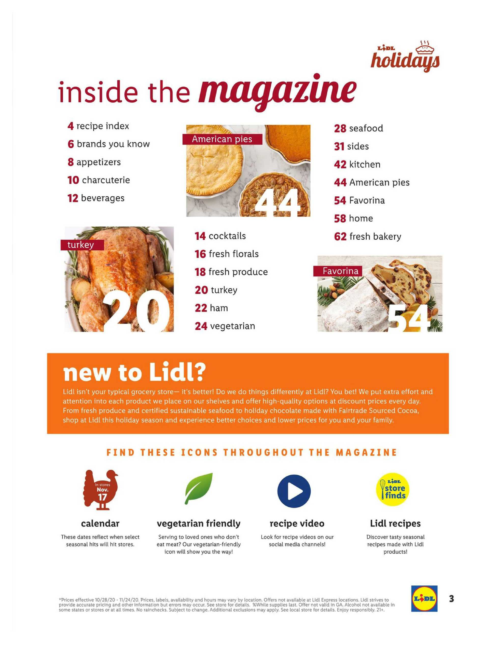 Lidl - deals are valid from 10/28/20 to 11/27/20 - page 3.