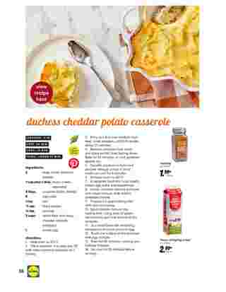 Lidl - deals are valid from 10/28/20 to 11/27/20 - page 36.