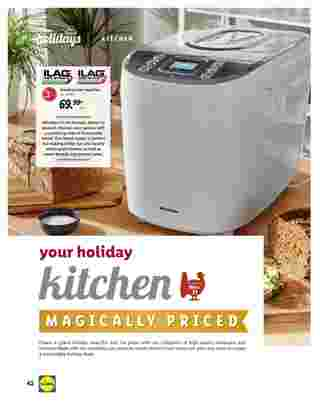 Lidl - deals are valid from 10/28/20 to 11/27/20 - page 42.