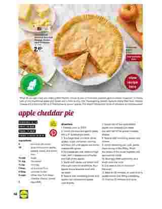 Lidl - deals are valid from 10/28/20 to 11/27/20 - page 48.