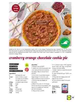 Lidl - deals are valid from 10/28/20 to 11/27/20 - page 49.