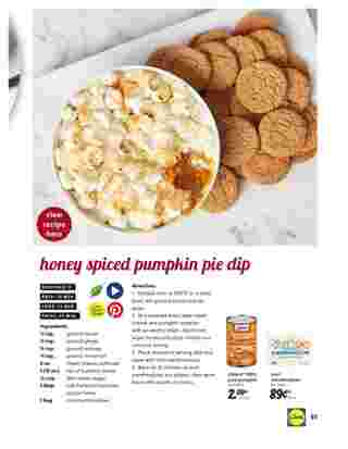 Lidl - deals are valid from 10/28/20 to 11/27/20 - page 51.