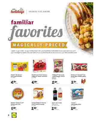 Lidl - deals are valid from 10/28/20 to 11/27/20 - page 6.