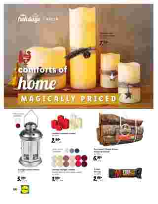 Lidl - deals are valid from 10/28/20 to 11/27/20 - page 60.
